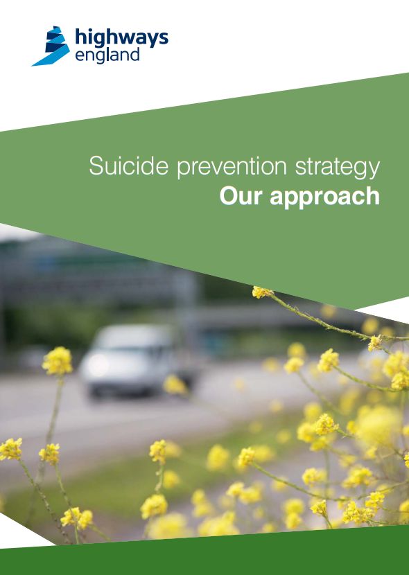 Highways England suicide prevention strategy