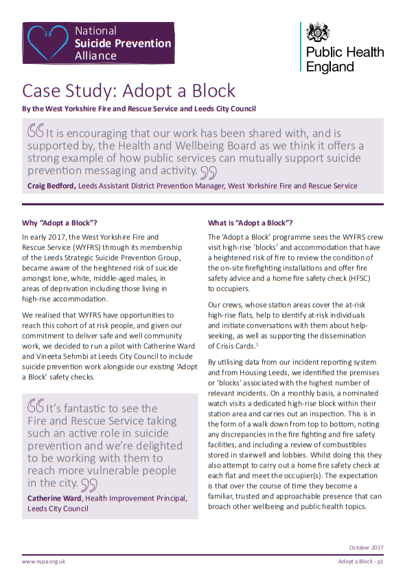 Case study tackling social isolation