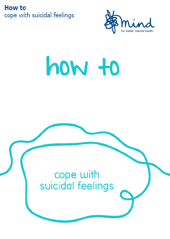 How to cope with suicidal feelings