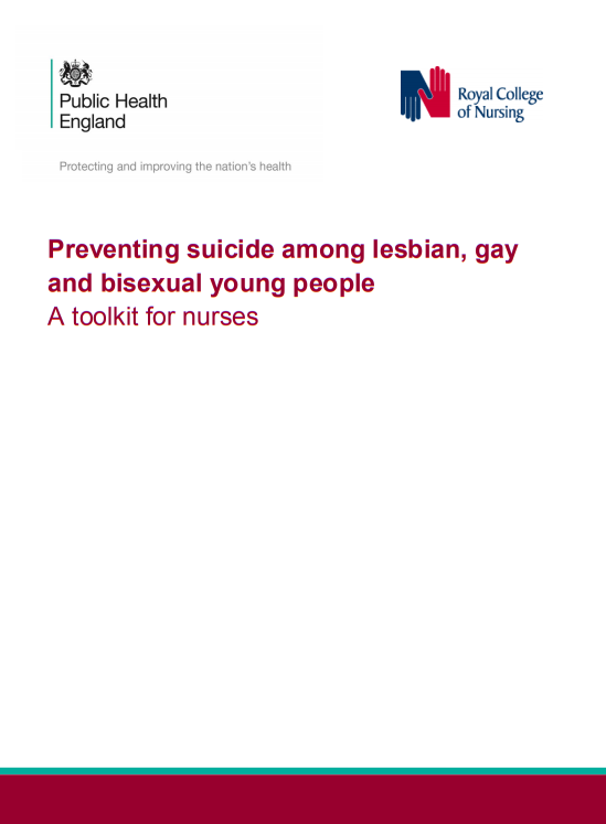 Preventing suicide among lesbian, gay and bisexual young people