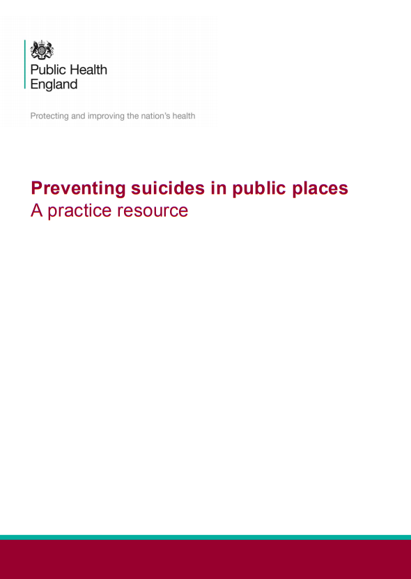 Preventing suicides in public places