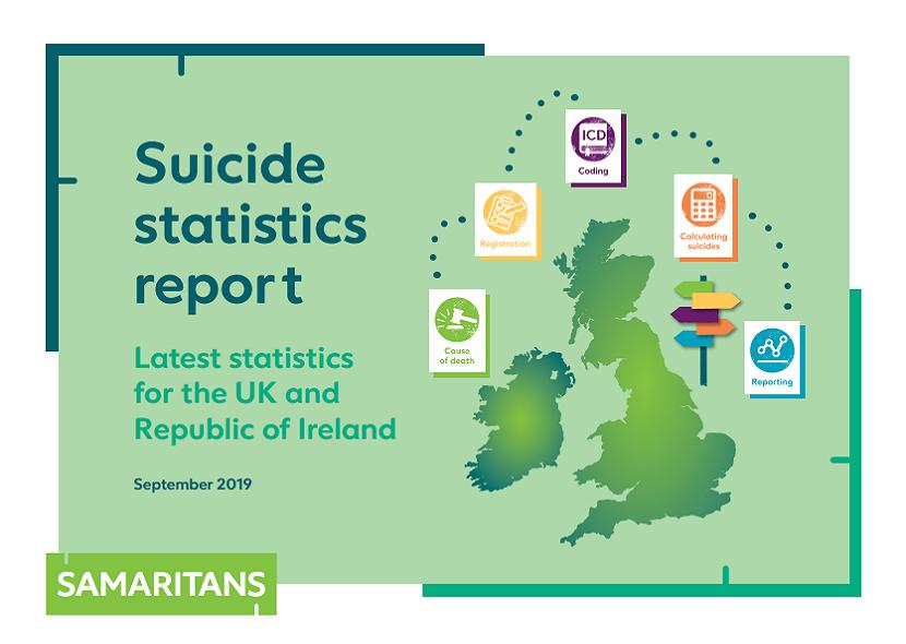 Samaritan suicide statistics report 2019 – using data from 2018