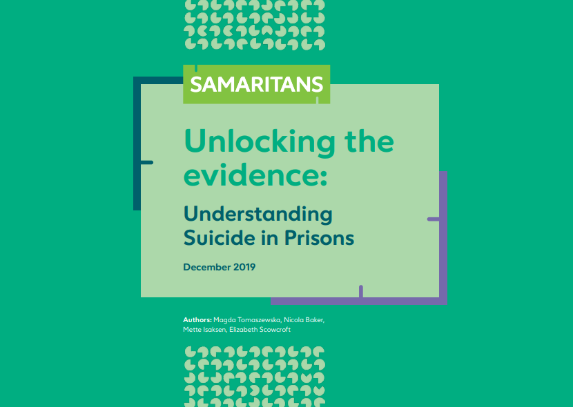 Samaritans prisons data – Unlocking the evidence