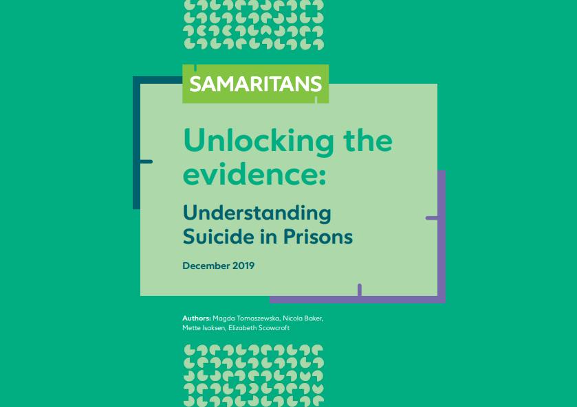 Samaritans prisons data – Unlocking the evidence