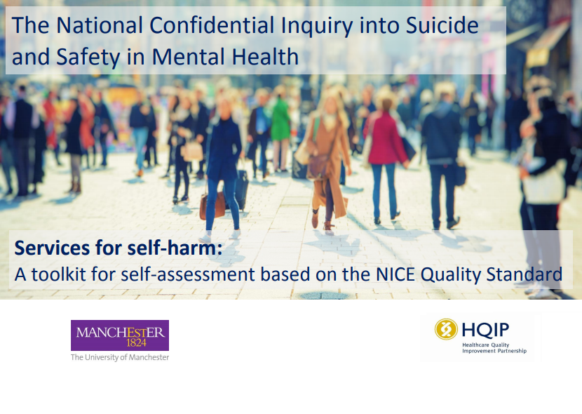 The National Confidential Inquiry into Suicide and Safety in Mental Health